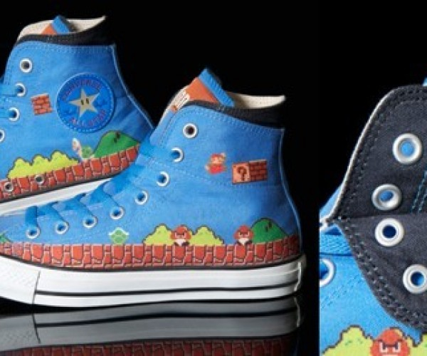 Chuck Taylors + Super Mario = Awesome Sneakers