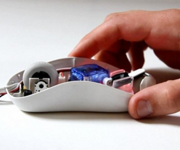 How Huge Is That Folder You're Trying to Drag? The DataBot Mouse Will Let You Know