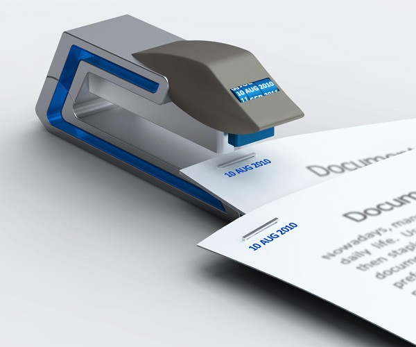 Date Stapler Does Exactly What It Says