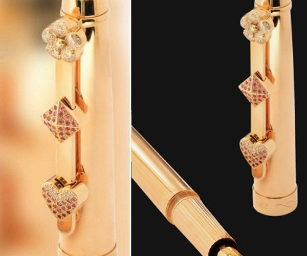 Endless Happiness Pen: Jewel-Encrusted and Worth… What?