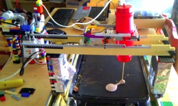 Lego Pancake Robot