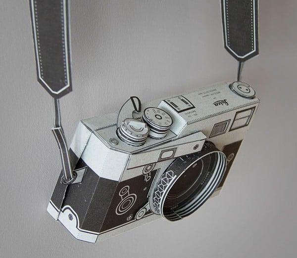 Papercraft Leica Camera