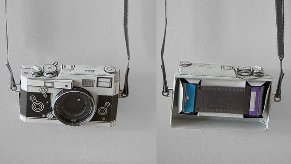 Papercraft Leica Camera1