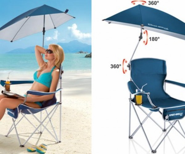 Super-Brella Chair Is the Only Folding Chair You'll Ever Need