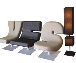 Spell It Out With Tabisso's Typographic Lounge Furniture