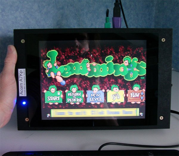 acorn 7000 plus portable lemmings
