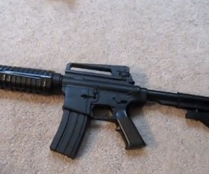 Airsoft Rifle Laser Mod: Laserhard