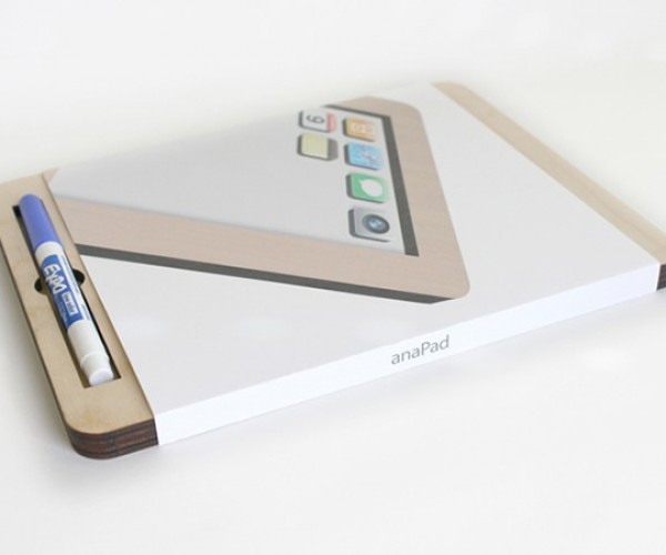 anapad wooden magnetic white board by twigcreative 2