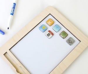 anaPad iPad-Shaped Magnetic White Board Trains Kids To Use Tablets