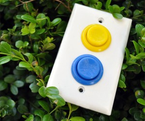 Arcade Light Switch Perfect for Button Mashers