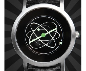 Atom Watch: Basic Unit of Matter Makes for Complicated Watch