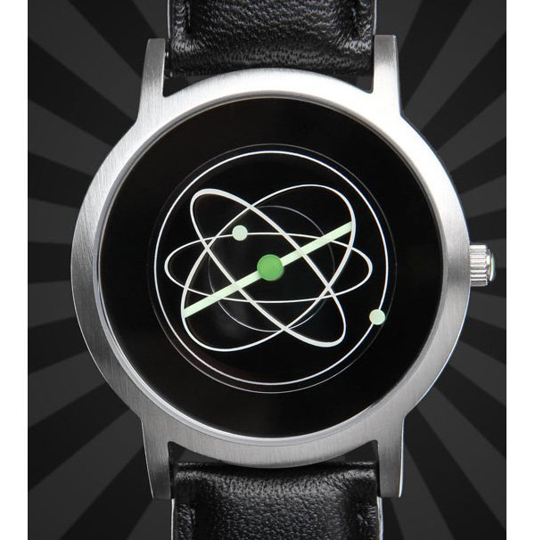 atom watch from thinkgeek