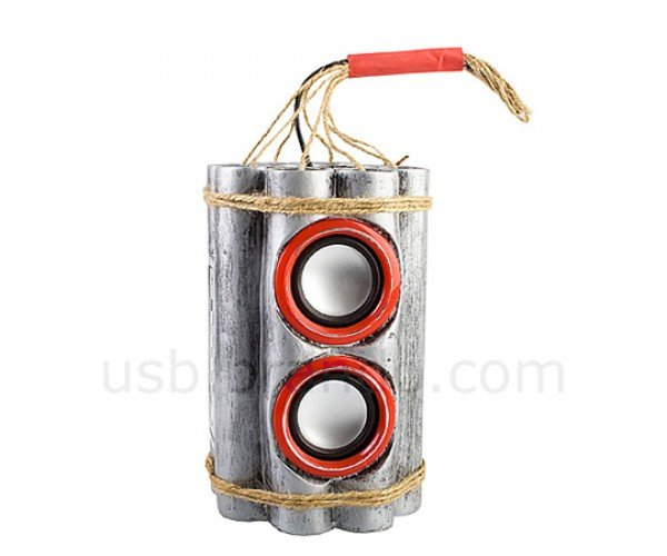 brando usb bombshell speaker mp3 player radio 2