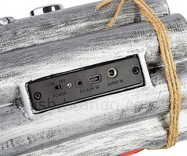 brando usb bombshell speaker mp3 player radio 5