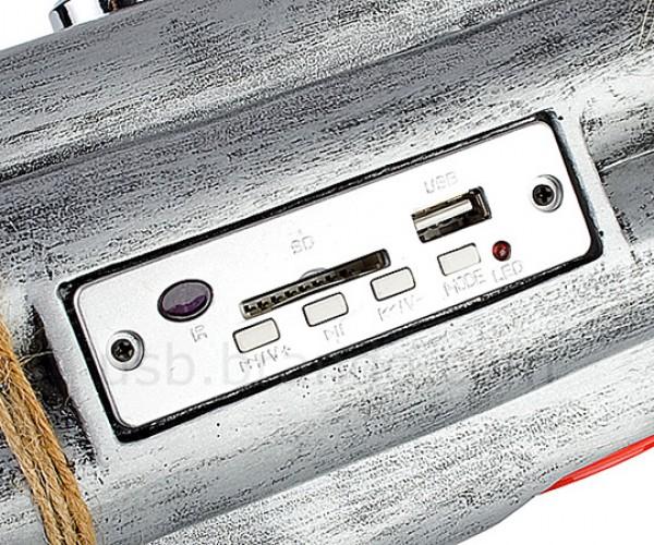 brando usb bombshell speaker mp3 player radio 6