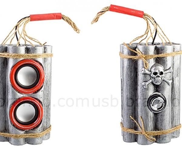 brando usb bombshell speaker mp3 player radio