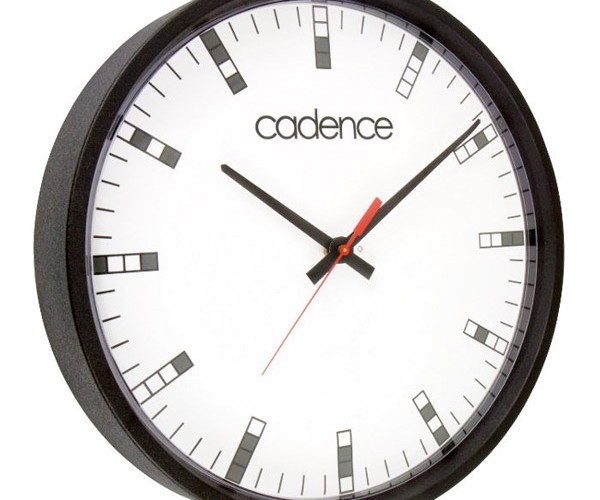 Cadence 4-Bit Wall Clock is Perfect for your Geek Office or Room
