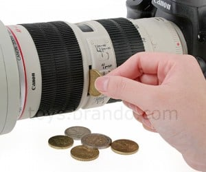 Canon DSLR Camera or Piggy Bank?