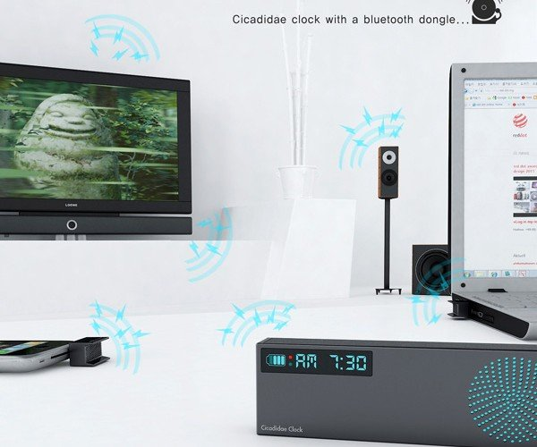 Cicadidae Alarm Clock Concept Turns Your Gadgets Against You