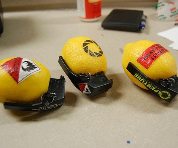 Combustible Lemon Props: When Life Gives You Fake Lemons…