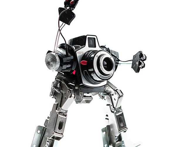cyber sculptures by andrea petrachi aka himatic 8