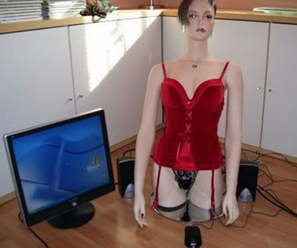 """Cyber Girl"" PC Mod is More Scary than Sexy"