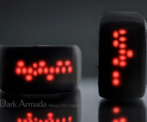 Dark Armada LED Watch Dares You to Tell the Time