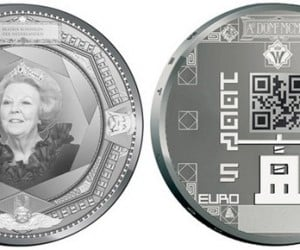 New Dutch Coins to Get QR Codes