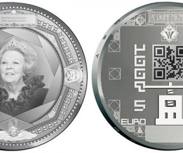 New Dutch Coins to Get QR Codes