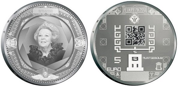 dutch qr coin