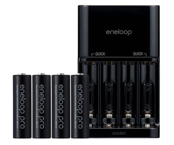 8dff71f413 Sanyo Eneloop Pro and Plus Batteries Charge Up Gadgets Longer