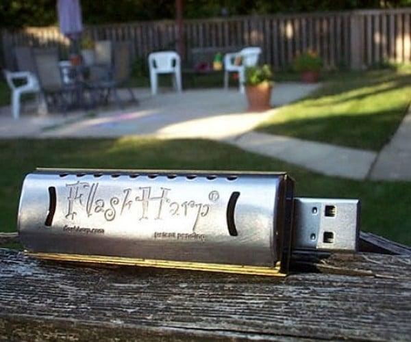 FlashHarp USB Harmonica: Hootie and the BlowFlash