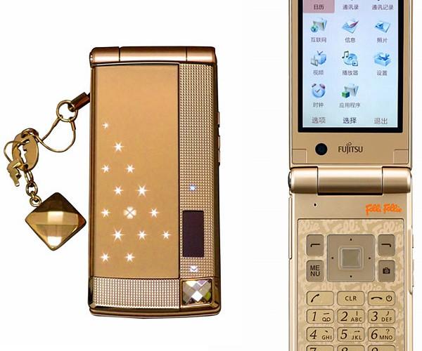 Fujitsu Folli Follie Mobile Phone Heads to China Smelling Like Perfume