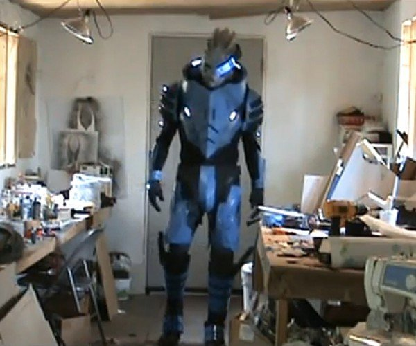 Mass Effect 2 Garrus Cosplay Made Me Calibrate My Pants