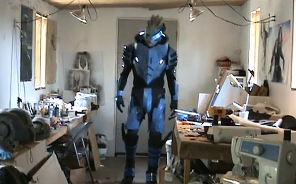 garrus vakarian mass effect 2 cosplay by robert rodgers