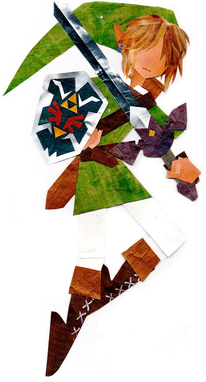 geeky papercraft by botjira