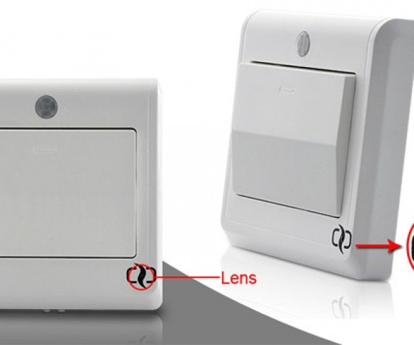 Spy Camera Light Switch Can Send Images to Your Phone