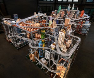 Gigantically Awesome Hot Wheels Metropolis II City is a Kinetic Sculpture