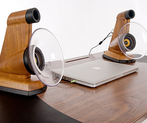 Jason Plumb's Enhance Speakers: Horn-Loaded Goodness for Desktops