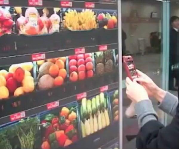 Koreans Go Grocery Shopping, Virtually.