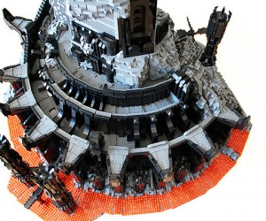 lego barad dur dark tower of sauron by kevin walter 4