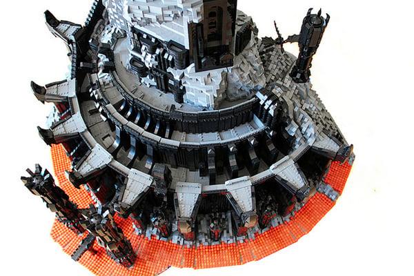 Tower of Sauron Lego Lego Barad Dur Dark Tower of