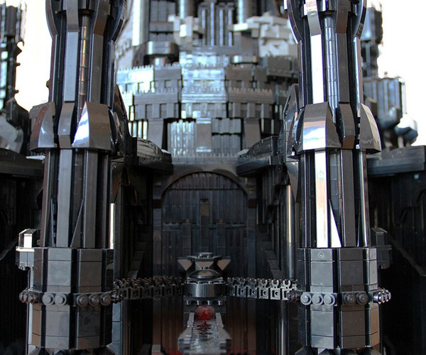 lego barad dur dark tower of sauron by kevin walter 5