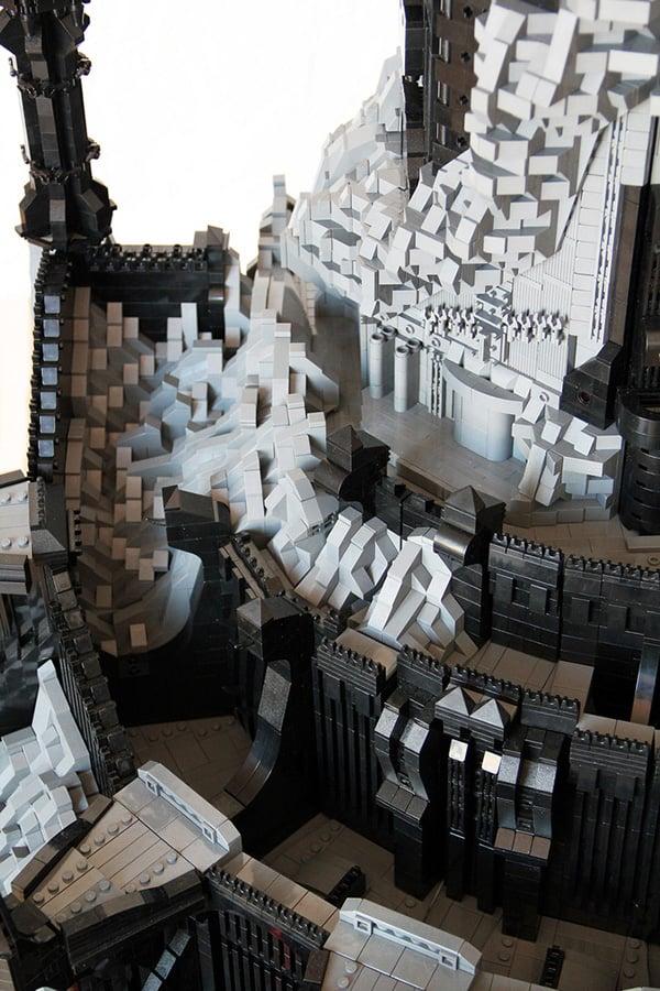 Tower of Sauron Lego Lego-barad-dur-dark-tower-of