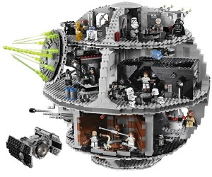 LEGO Star Wars Death Star Kit: Over 3,800 Pieces!