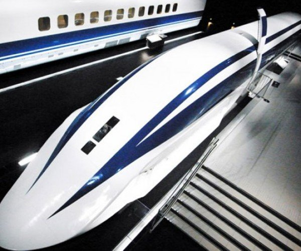 Japanese Maglev Train to Run at 313 MPH!