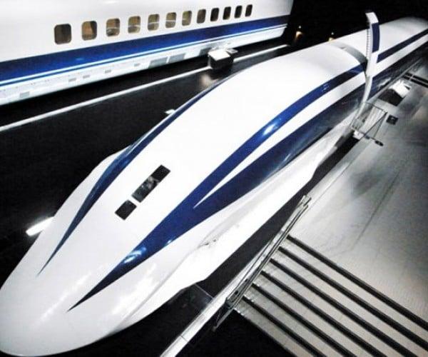 Japanese Maglev Train to Run at 313 MPH!