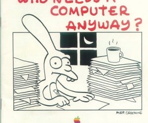 Did You Know Matt Groening Illustrated for Apple?