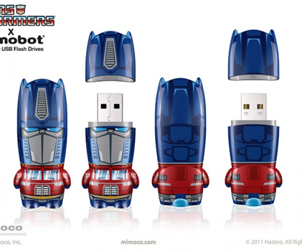 mimobot classic transformers series flash drives 2
