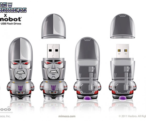 mimobot classic transformers series flash drives 3